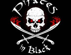 #76 para Logodesign Pirates In Black Band por gilart