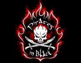 #48 para Logodesign Pirates In Black Band por garik09kots