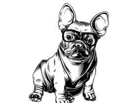 nº 33 pour Illustrate a french Bulldog - Hand Drawn par Rotzilla