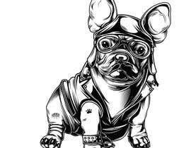 #42 for Illustrate a french Bulldog - Hand Drawn by Rotzilla