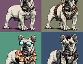 #28 for Illustrate a french Bulldog - Hand Drawn by jot8801