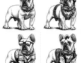 #29 for Illustrate a french Bulldog - Hand Drawn by jot8801
