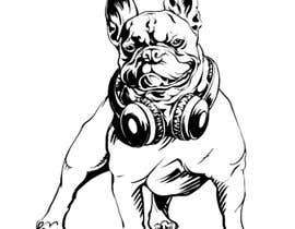 nº 32 pour Illustrate a french Bulldog - Hand Drawn par daniilandreev