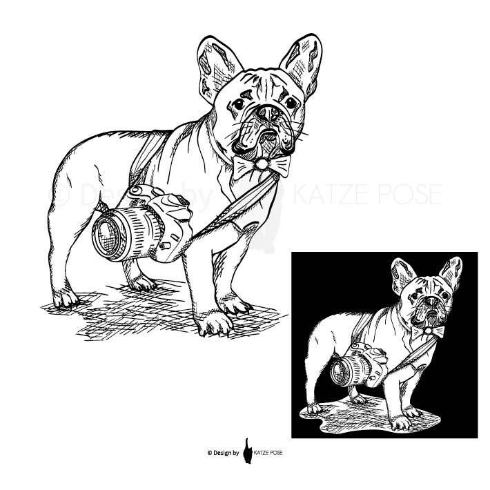 Proposition n°52 du concours Illustrate a french Bulldog - Hand Drawn