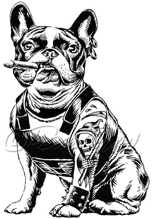 Proposition n°54 du concours Illustrate a french Bulldog - Hand Drawn