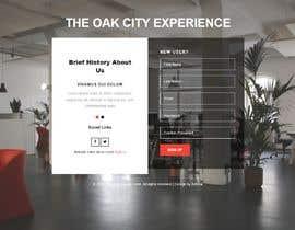 #4 para Landing Page for The Oak City Experience de Ammar619