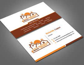 #63 para Design some Business Cards For Construction Design Company de Nabila114