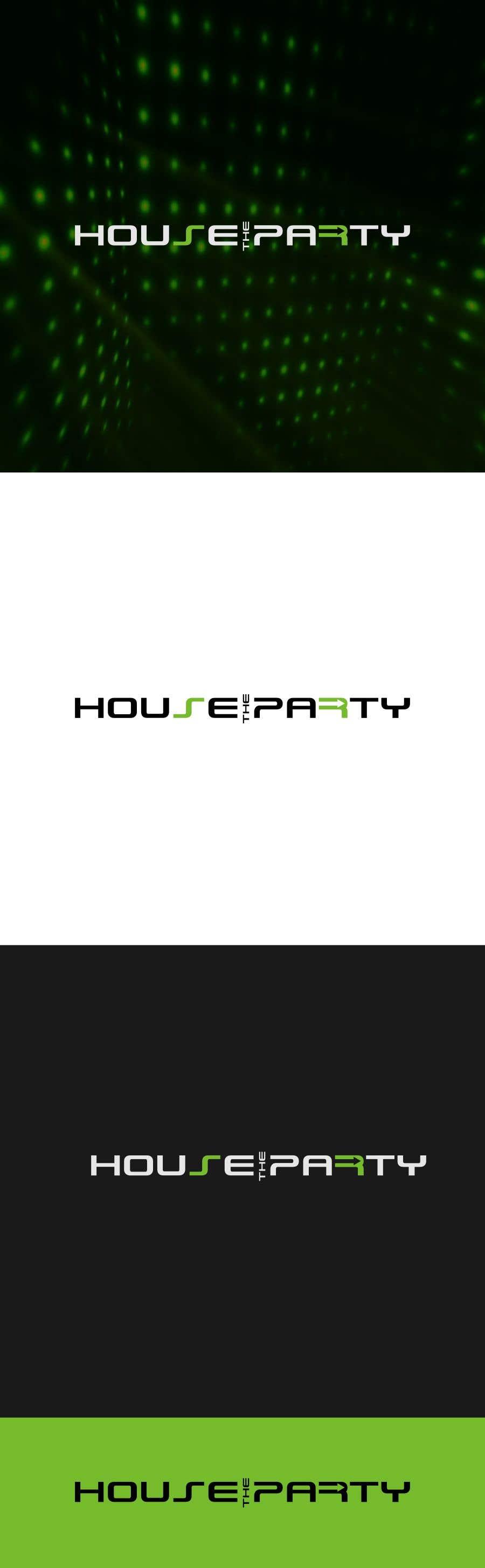 Kilpailutyö #335 kilpailussa Design New Logo For House The Party (Design Idea Attached)