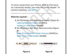 "#1 para Write an article titled ""How To Connect Your iPhone Or iPad To A Projector"" por amberbhanarkar"