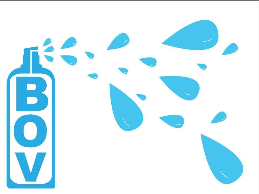 Конкурсная заявка №30 для Illustration to illustrate a new aerosol spray technology