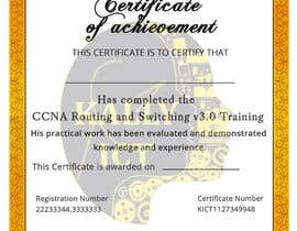 #47 for Training Certificate Design af DhanvirArt