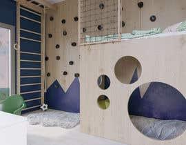 #8 untuk Interior design - Kids bedroom/playroom oleh PatriciaHeras