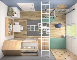 #27 untuk Interior design - Kids bedroom/playroom oleh salamonzsolt