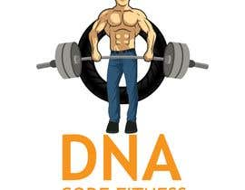 "#26 for Logo for ""DNA Code Fitness"". A masculine fitness line. The attached photo provides you with the kind of character we are looking for. Logo should include DNA imagery. Will need an image for social media use and one optimized for printing on clothing. by lue23"