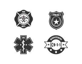 #6 cho Vector Art for First Responder Professions (Fire, EMS, Police, 911 Dispatchers) bởi sudhalottos