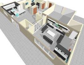 #44 for design 1st floor floor plan by eliasuleiman