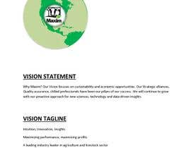 #23 untuk Develop a Vision Statement & a Tagline for an Agri Company oleh M2Sales