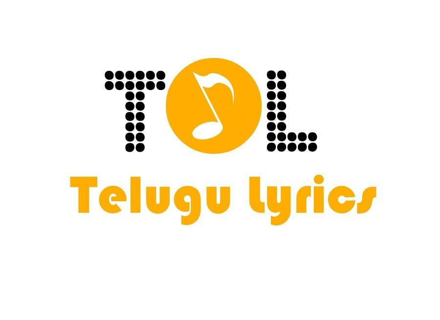 """Inscrição nº                                         9                                      do Concurso para                                         Design a Logo for Telugu Music Portal with Primary focus on """"Telugu Lyrics"""""""