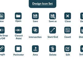 #20 for Design Icon Set by Tashir786
