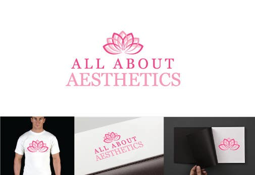 Proposition n°                                        96                                      du concours                                         Logo Design for All About Aesthetics