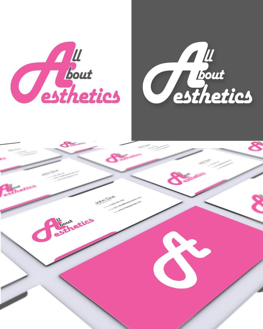 Penyertaan Peraduan #75 untuk Logo Design for All About Aesthetics