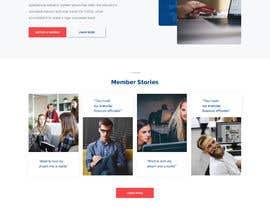 Nro 44 kilpailuun Design a Website Mockup for Credit Union (bank) käyttäjältä negibheji
