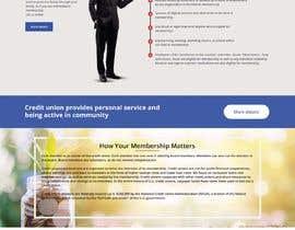 Nro 42 kilpailuun Design a Website Mockup for Credit Union (bank) käyttäjältä satishandsurabhi