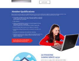 Nro 39 kilpailuun Design a Website Mockup for Credit Union (bank) käyttäjältä znsolutions