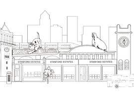 djamalidin님에 의한 Illustrate our local landmarks and offices을(를) 위한 #9