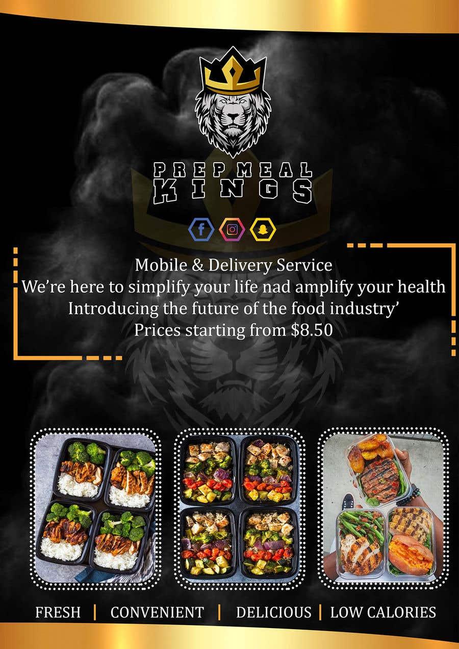 Συμμετοχή Διαγωνισμού #16 για Prep Meals Flyer