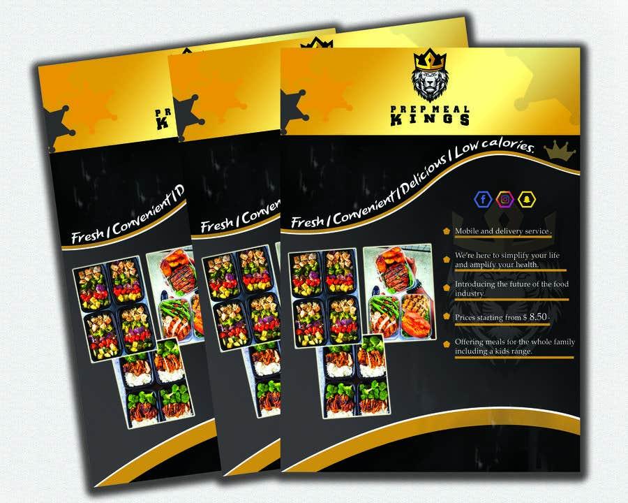 Συμμετοχή Διαγωνισμού #13 για Prep Meals Flyer