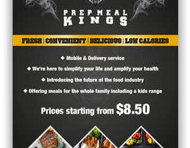#15 for Prep Meals Flyer by Nocturnedesign
