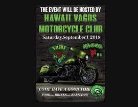 Nro 19 kilpailuun Motorcycle event flyer in oahu  hawaii #2 käyttäjältä khaledalmanse