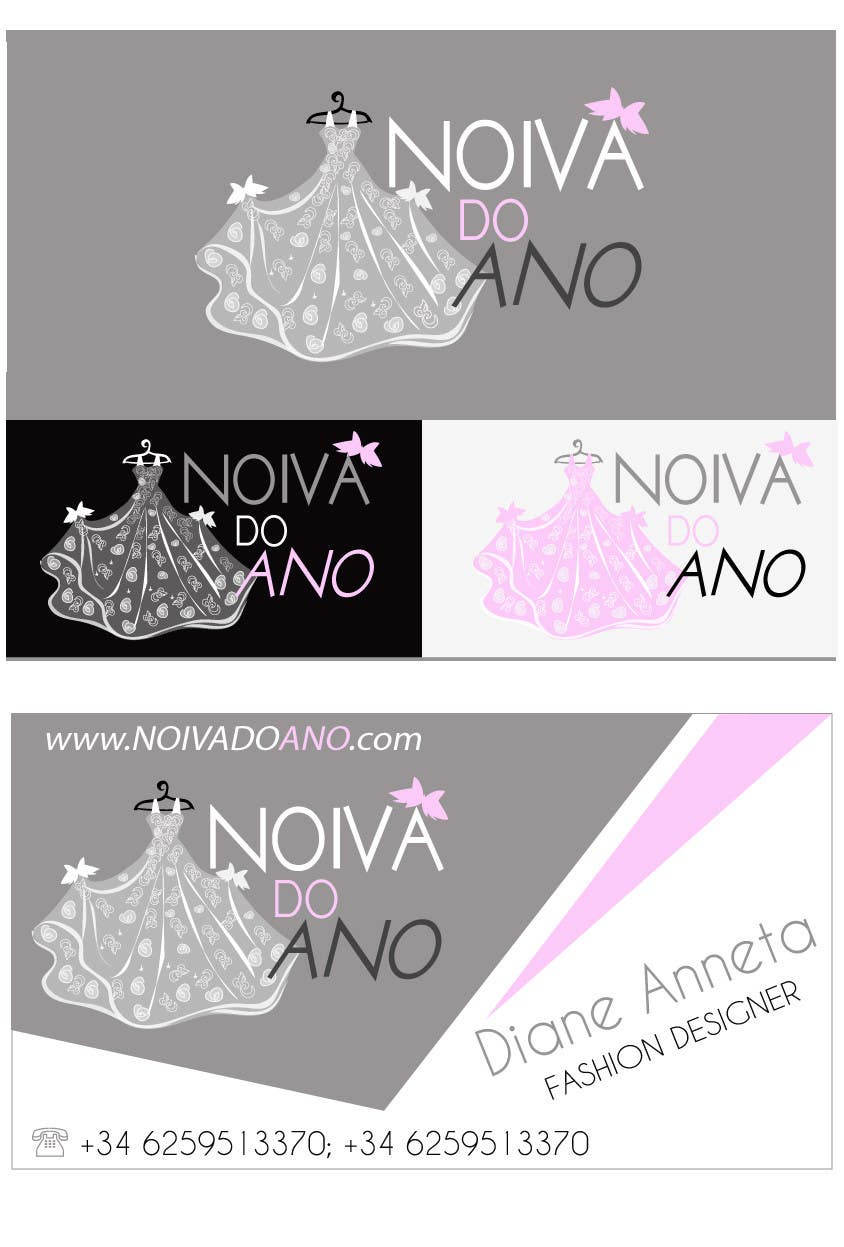#137 for Logo Design for Noiva do ano (Bride of the year) by idartwork26