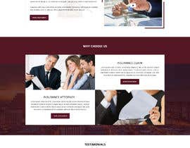 #15 , Insurance Law Firm website 来自 shazy9design