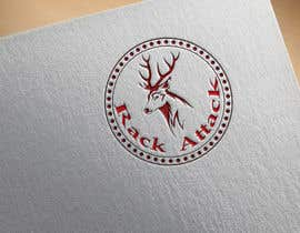 JDChakma tarafından I need a logo designed for  deer hunting scent killer.  The name of the scent killer is Rack Attack.  We need something eye catching to put on a label. için no 17