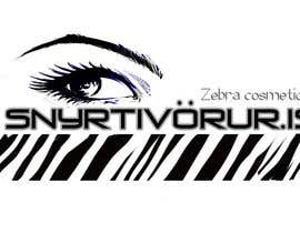 nº 103 pour Logo Design for Snyrtivorur.is (and Zebra Cosmetique) par Vagelis2D