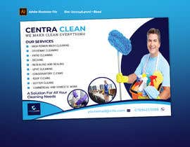 nº 9 pour Design a Flyer for a professional cleaning company par graphicshero