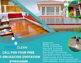 Nro 7 kilpailuun Design a Flyer for a professional cleaning company käyttäjältä sayedomran1996