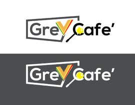 #12 for Logo design Its called Grey Cafe'. It will be selling snacks, sandwiches and sliders. The interior is concrete simple modern design.  The logo should not be circle as I am restricted to have 4mx1.4m signboard. by Eastahad