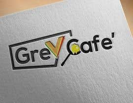 #13 for Logo design Its called Grey Cafe'. It will be selling snacks, sandwiches and sliders. The interior is concrete simple modern design.  The logo should not be circle as I am restricted to have 4mx1.4m signboard. by Eastahad