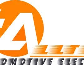 #13 for Business name- Alltech Automotive Electrical Colours prefered- Black White Orange Easily readable font with modern styling by jiwacyber