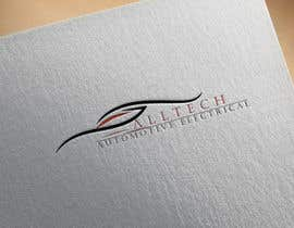 #12 for Business name- Alltech Automotive Electrical Colours prefered- Black White Orange Easily readable font with modern styling by emdadullahrayha9