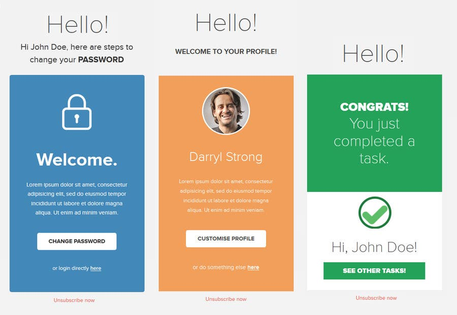 Entry By Sharmavn For Make A HTML Email Template Freelancer - Photo contest website template