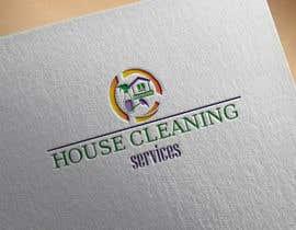 #303 para Logo design for house cleaning services por DesignInverter