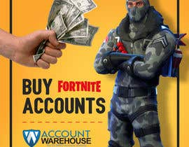 #9 for Design multiple advertisements for Fortnite Instagram account. by Artkisel