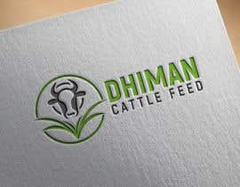 #23 para Design a Logo for Dhiman cattle feed with word Dhiman por shahadatmizi