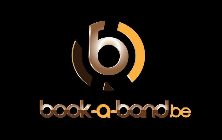 Kilpailutyö #312 kilpailussa Logo Design for book-a-band.be