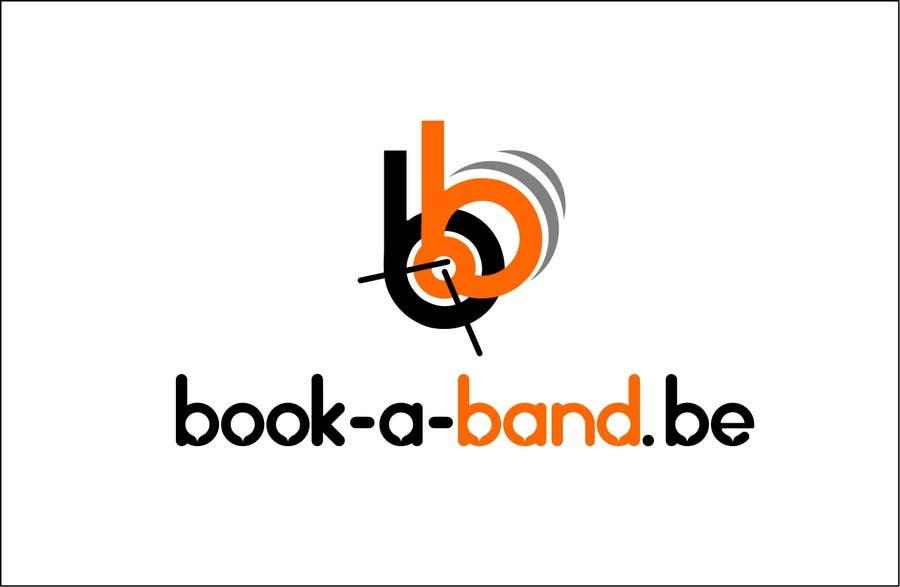 "Intrarea #220 pentru concursul ""Logo Design for book-a-band.be"""