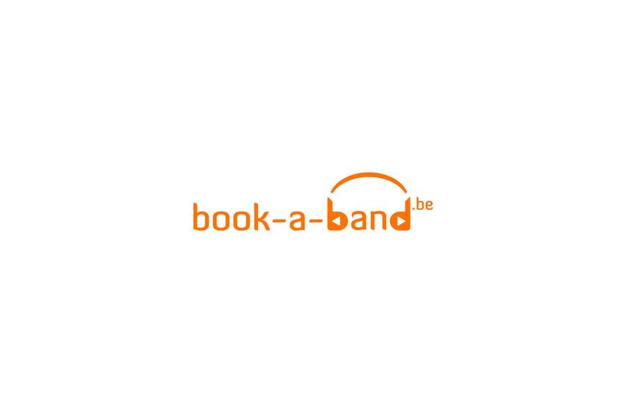 "Intrarea #330 pentru concursul ""Logo Design for book-a-band.be"""
